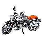 ZCXX Juego de construcción de 886 piezas Custom Motorcycle Set de técnica de carreras, modelo Offroad, compatible con Lego Technic
