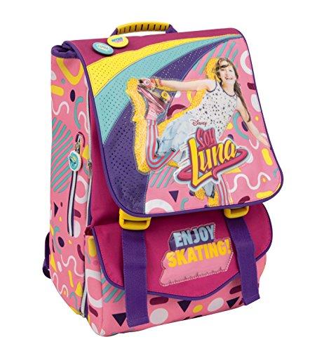 Auguri Preziosi Preziosi - Soy Luna Zaino Estensibile Con Gadget Children's Backpack, Black (Nero)