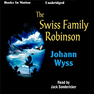 Swiss Family Robinson audiobook cover art