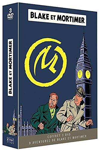 Coffret Blake et Mortimer 3 DVD