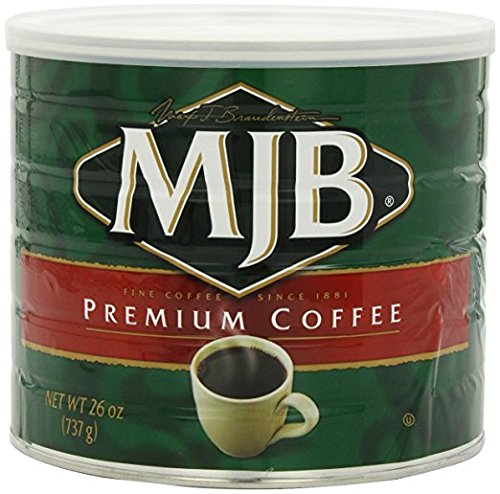 MJB Coffee, Premium Ground, 26 Ounce (Pack of 6)