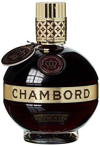Chambord Liqueur Royale de France - 16,5% Vol.(1 x 0.5 l)/Himbeerlikör aus XO Cognac/Aus natürlichen Inhaltsstoffen/Likör aus Frankreich