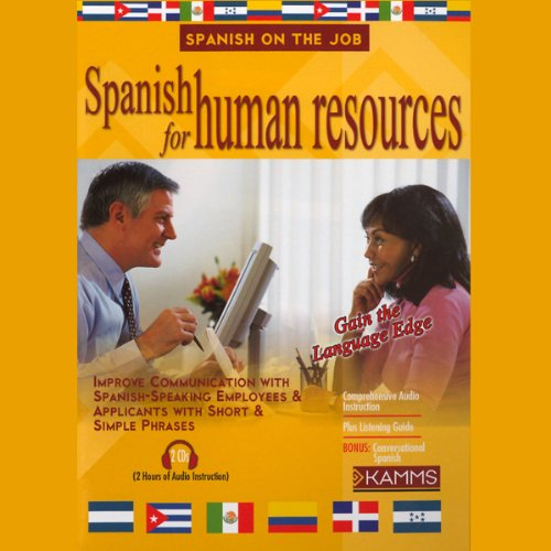 Spanish for Human Resources audiobook cover art
