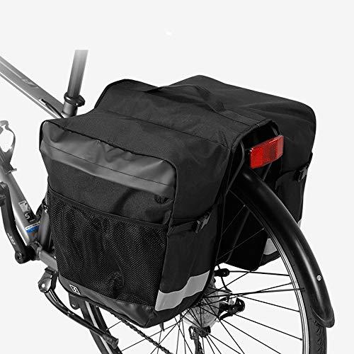 Fietstas/bagagetas/fietstas/bagagetas/fietsachterbank/reflecterende paspeling en grote tas voor fietsbagage met regenbescherming voor heren.