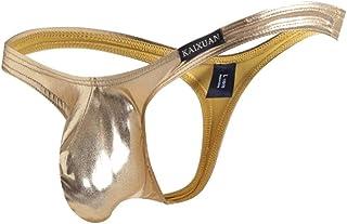 Breathable Men's Elastic Leather Underwear Briefs Clothing