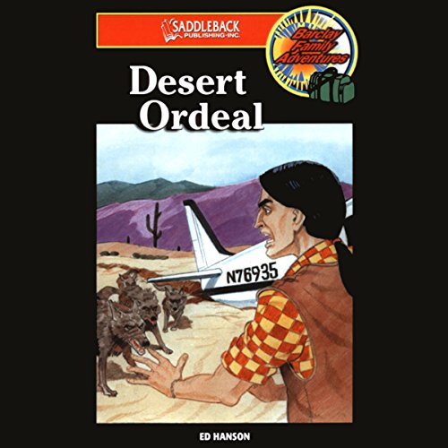 Desert Ordeal audiobook cover art