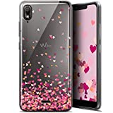 Case for 5.93 inch Wiko View 2 GO, Sweetie Heart Flakes
