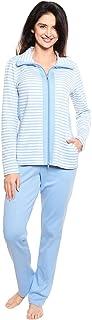 Rösch Smart Casual 1213065-16080 Women's Ringlet Blue Cotton Loungewear Set