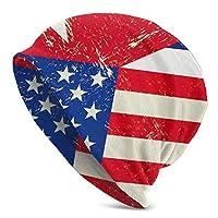 ニット帽 ニットワッチ ワッチキャップ キャップ 帽子 通気性抜群 アウトドア 便利 ファッション オールシーズン キューバの国旗 アメリカの国旗 おしゃれ シンプル 柔らかい ゆったり 防寒 保温 スポーツ ランニング 男女兼用