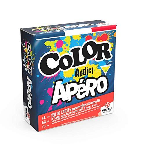 Ducale, le jeu français- Color Addict Apéro Cartes D'ambiance-Jeu D'apéro, 130009887