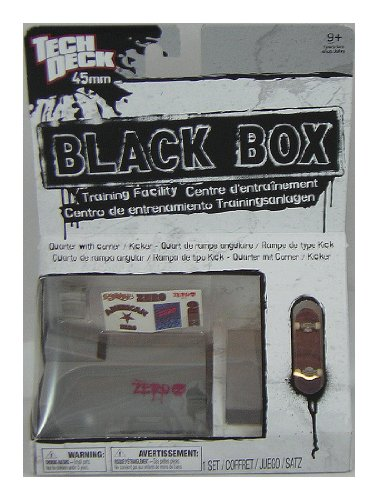 Tech Deck Black Box Training Facility - Quarter with Corner