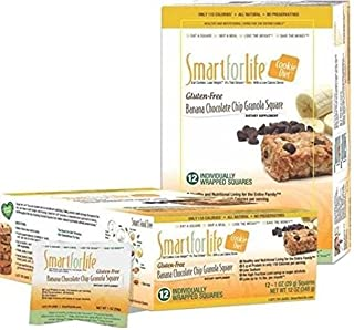 Smart for Life 11459 SmartforLife Cookie Diet 7 Day Meal Replacements Gluten-Free Banana Chocolate Chip (7 Days)