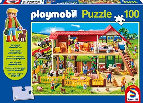 Playmobil, Boerderij, 100 stukjes Puzzel