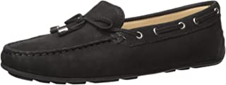 Women's Leather Made in Brazil Nantucket 2.0 Tiebow Driver Moc Loafer