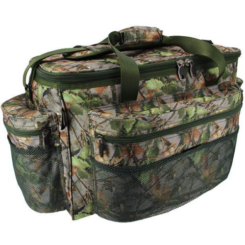 OAKWOOD Extra Large Green Camo Carp Pike Coarse Fishing Tackle Bag Holdall