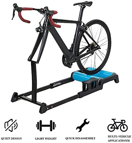 CFSAFAA Bicycle SKTY Training Bike Roller, Noise Reduction Stationary Indoor Bike Exercise Trainer Silent Bike Stand Resistance 0706 Various Bicycles (Color : -)