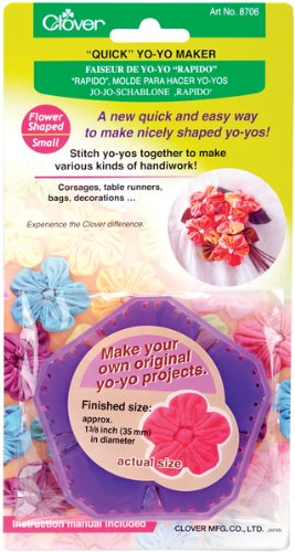 "Quick Yo Yo Maker-Flower 1-3/8"" 1 pcs sku# 644509MA"
