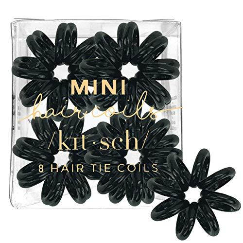 Kitsch 8 Piece Mini Hair Coil Set (Black)