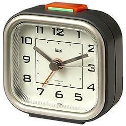 BAI Squeeze-Me Travel Alarm Clock, Gotham