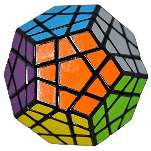 RENFEIYUAN Reg;Dodecahedron MA Juguete 40mm, Negro Rubik Cubo