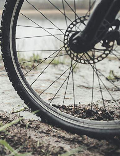 Meine Radtouren: Dokumentiere deine Fahrrad, Mountainbike, Rennrad Touren und Ausflüge ♦ Tagebuch für über 100 Touren ♦ Verbessere deine Fitness und Ausdauer ♦ A4+ Format ♦ Motiv: Felge 2
