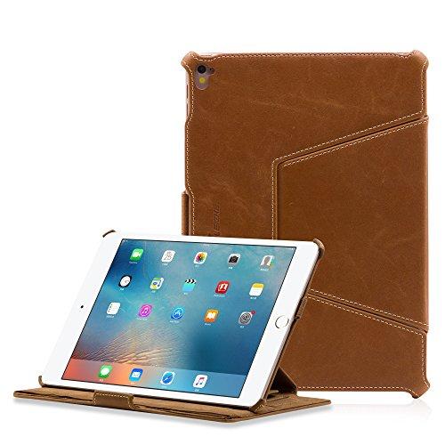 Leicke MN60259 Custodia per Tablet 24,6 cm (9.7') Custodia a Libro Marrone