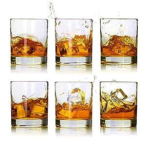 Whiskey Glasses-Premium 11 OZ Scotch Glasses Set of 6 /Old Fashioned...