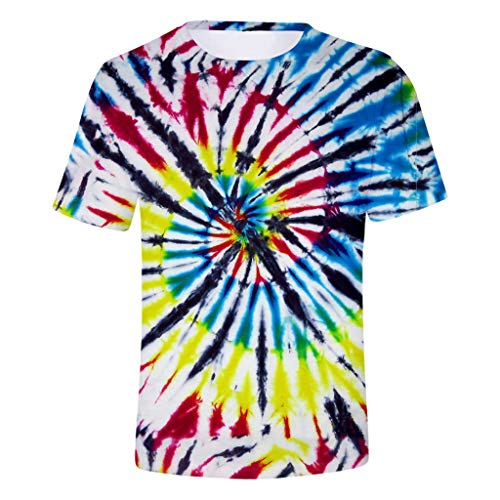 Great Features Of Unisex 3D Dye Graphics Printed Short Sleeve T-Shirts Casual Graphics Tees