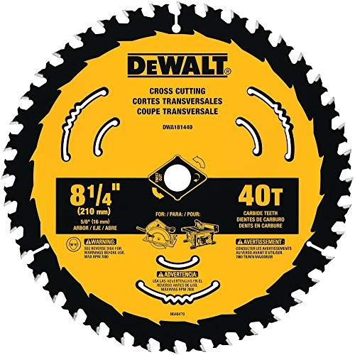 DEWALT DWA181440 8-1/4-Inch 40-Tooth...