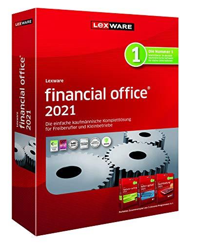 Lexware financial office 2021|basis-Version Minibox (Jahreslizenz)|Einfache kaufmännische Komplett-Lösung für Freiberufler|Kompatibel mit Windows 8.1 oder aktueller|Basis|1|1 Jahr|PC|Disc