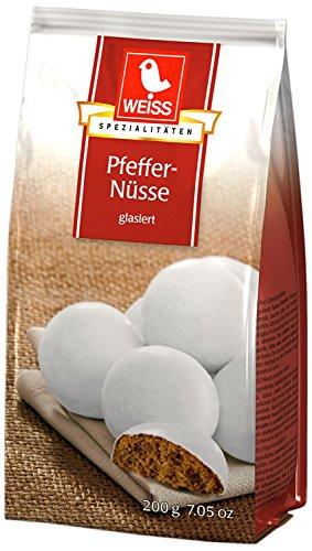 Weiss Pfeffer-Nüsse Inhalt: 15x200g