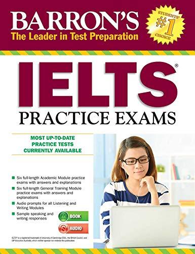 IELTS Practice Exams with MP3 CD, 3rd Edition (Barron's Test Prep)