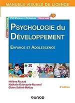 Manuel visuel de psychologie du développement - 3e éd. - Enfance et adolescence de Hélène Ricaud