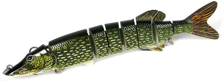 TTYY Bionic Bait Lifelike Large Lure Fishing Gear Bionic Tackle 20cm 64g Bait 2pcs Hard Baits Plastic with Dual Fishhook