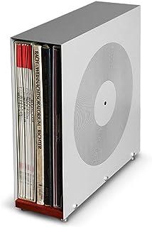 Soporte de exhibición de discos de vinilo de 12 pulgadas, CD DVD Disco de juego Estante de almacenamiento de discos de vin...