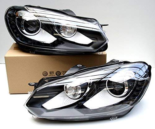 Preisvergleich Produktbild Original Volkswagen VW Ersatzteile VW Xenon + LED Golf 6 VI Scheinwerfer Tagfahrlicht,  Original VW