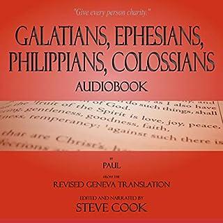 Galatians, Ephesians, Philippians, Colossians Audiobook cover art