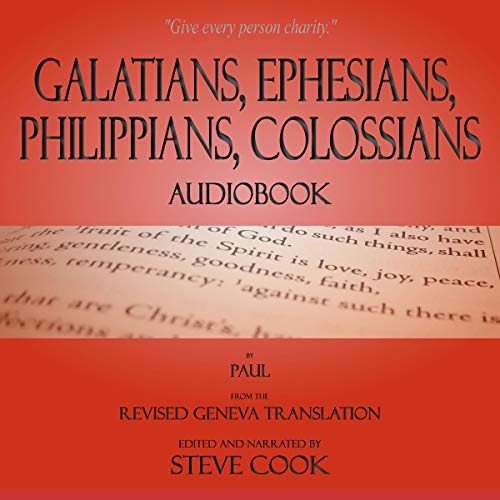 Galatians, Ephesians, Philippians, Colossians Audiobook cover art