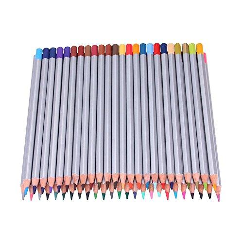 Crayons de couleur, Lance 48 Crayons Premier souple de base Art Colored crayons à dessin Art Drawing crayons pour l'artiste Sketch Artiste Sketch Enfants Rédaction Manga Création