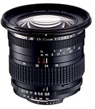 Tamron Autofocus 19-35mm f/3.5-4.5 Wide Angle Zoom Lens for Canon SLR Cameras