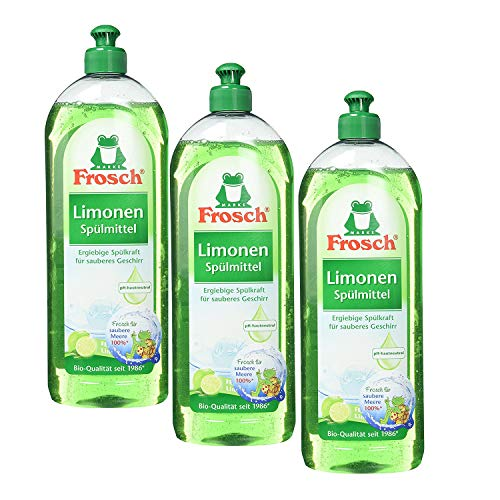 Frosch Limonen Spülmittel, 750 ml (3 x 750 ml)