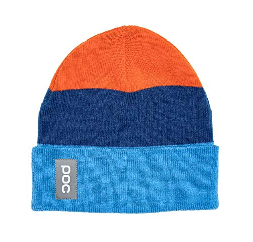 POC Stripe Beanie Mütze, Indium Multi Blue, one Size