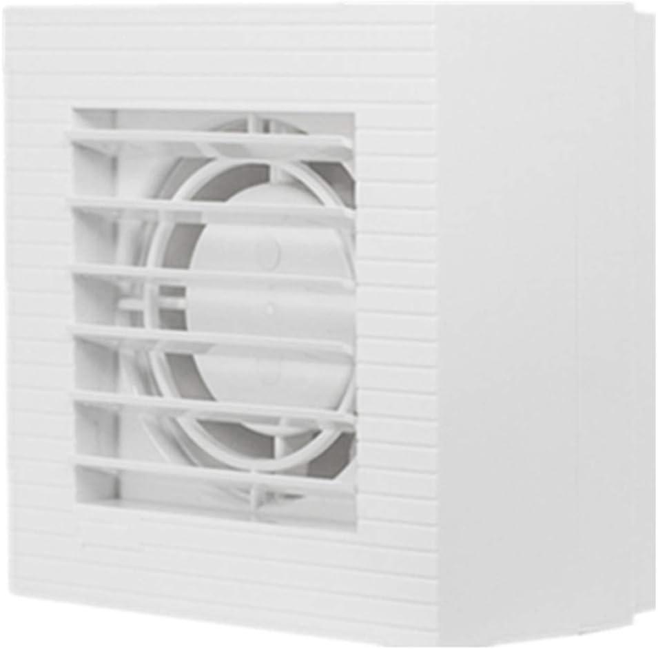 JJZXT Cuarto de baño Ventilación y Extractor con | Diseño y Doble Moderna Delgado Hanger Bar | Fácil instalación silenciosa de baño Aficionados del Ventilador