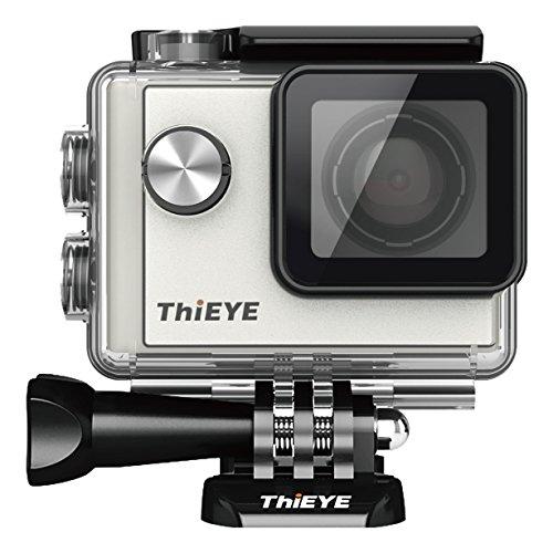 ThiEYE Action Cam Full HD Action Camera WiFi 12MP 1080p 60FPS Sport fotocamera 1.5pollici 40m impermeabile macchina fotografica del casco con batteria ricaricabile 1085mAh 152° grandangolare
