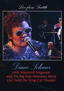 DVD Diane Schuur: Live from Seattle with Maynard Ferguson & His Big Bop Nouveau Book