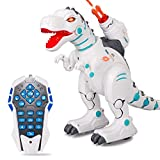 Ydq Robot Dinosaurio Caminando Dinosaurio Juguete Figura Dinosaurio Mundo Jurásico Simulación Genial Dinosaurio Rugido Sonido Movimiento Real.