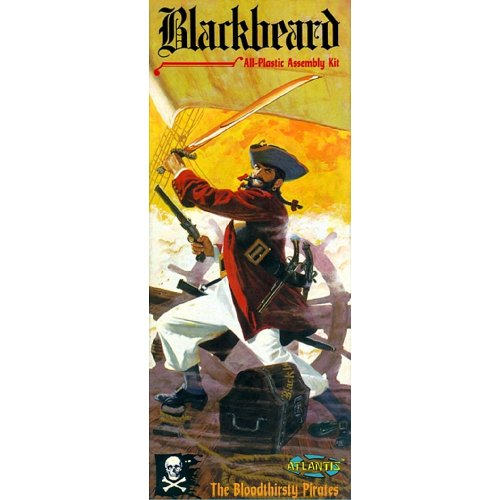 Blackbeard Pirate Figure Model Kit 1/10 Atlantis