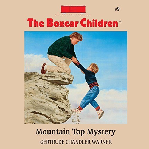Mountain Top Mystery audiobook cover art