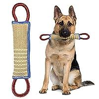 mecoco 犬ロープおもちゃ 犬噛むおもちゃ 噛むおもちゃ おもちゃ犬 コットン ストレス 解消 清潔 歯磨き 丈夫 耐久性 ロープおもちゃ 訓練玩具 犬用