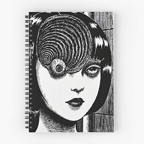 Macintosh Plus Sad 2001 Seapunk Boys Tumblr Vaporwave Nettes Schul-Fünf-Sterne-Spiral-Notizbuch mit haltbarem Druck